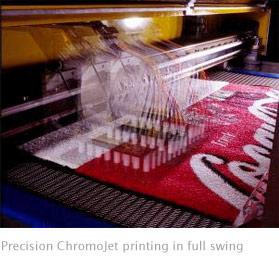 Alsco Mats Chromojet Printing