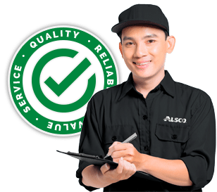 Friendly customer service by Alsco China