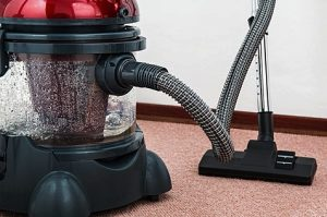 Use a vacuum to clean your carpet