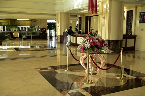 Reception Entrance Hall Hotel in China