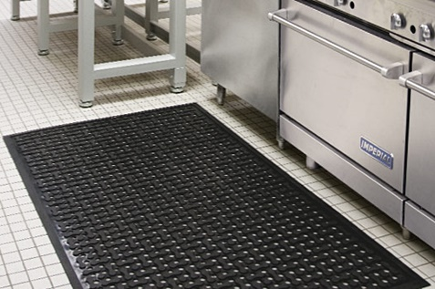 Alsco wet area mats for safety
